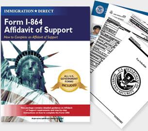 Prepare Affidavit of Support Form I-864