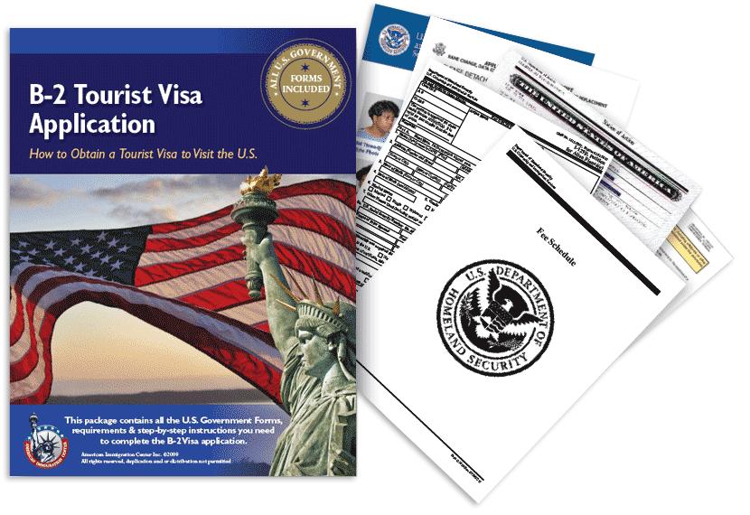 B-2 Tourist Visa Application Guide Package