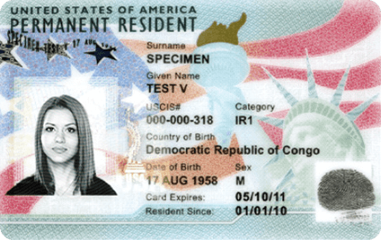 Green Card Replacement Application