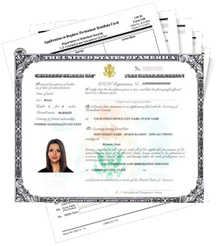 Certificate of Citizenship Application